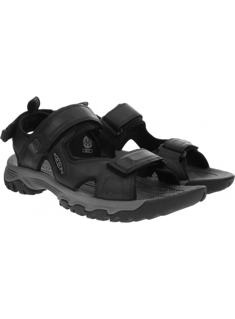 Sportowe Sandały KEEN Targhee III Open Toe Sandal 1022422 Black/Grey