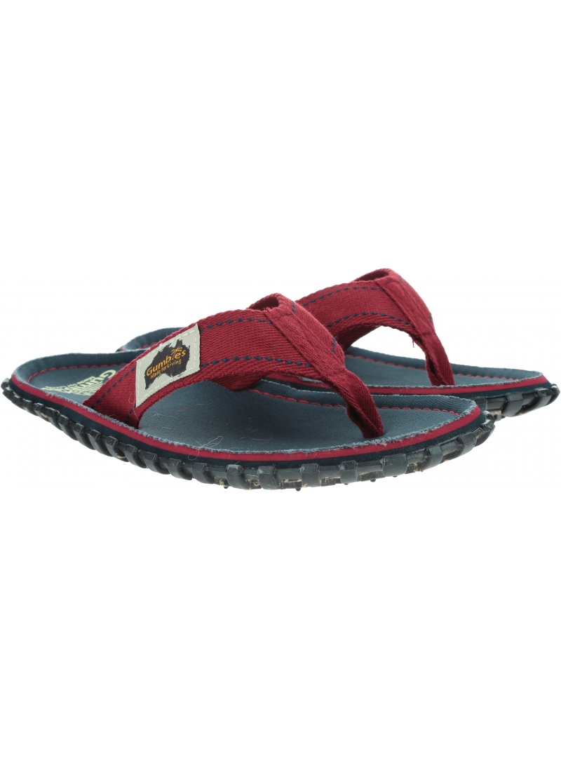 Japonki GUMBIES Islander Canvas Navy Coast