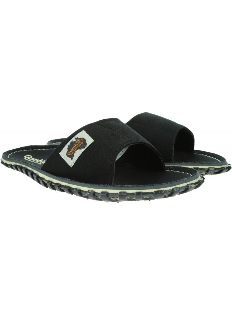 GUMBIES Islander Slides Black