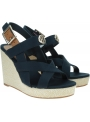 Espadryle Damskie TOMMY HILFIGER Basic Hardware High Wedge Sandal