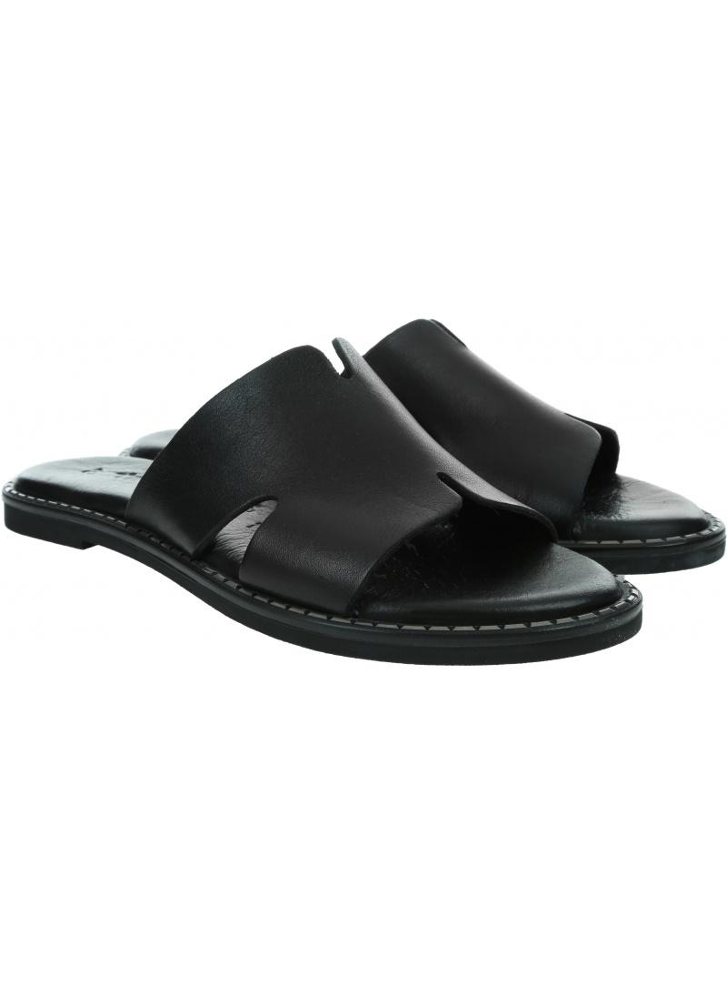 Czarne Klapki TAMARIS 1-27135/24 Black 900