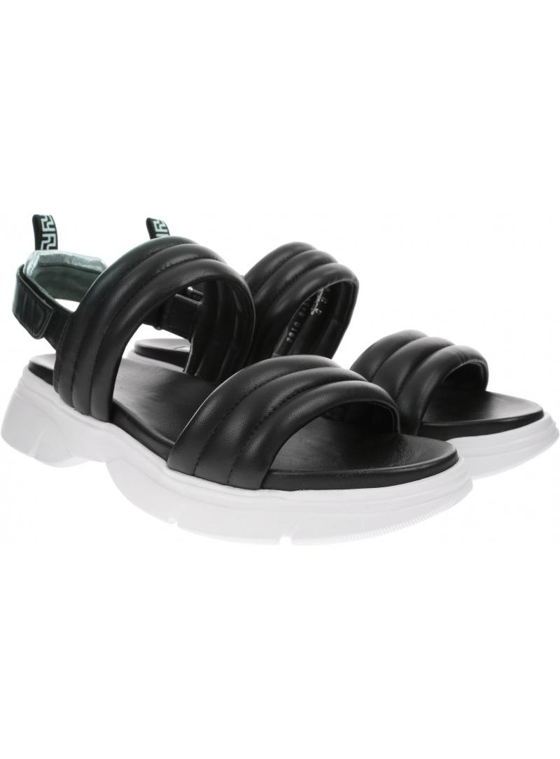 Czarne Sandały HOGL 9-10-2910 0100