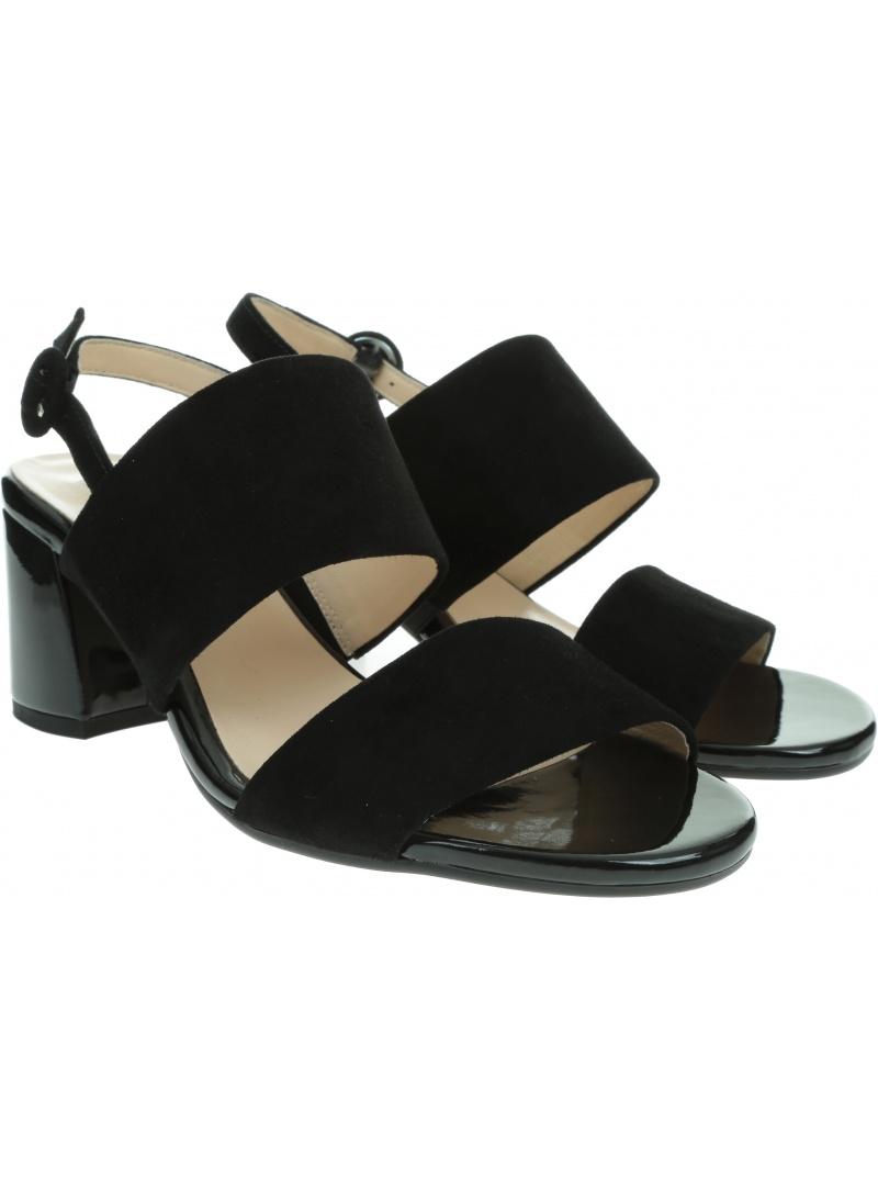 Czarne Sandały HOGL 9-10-5542 0100
