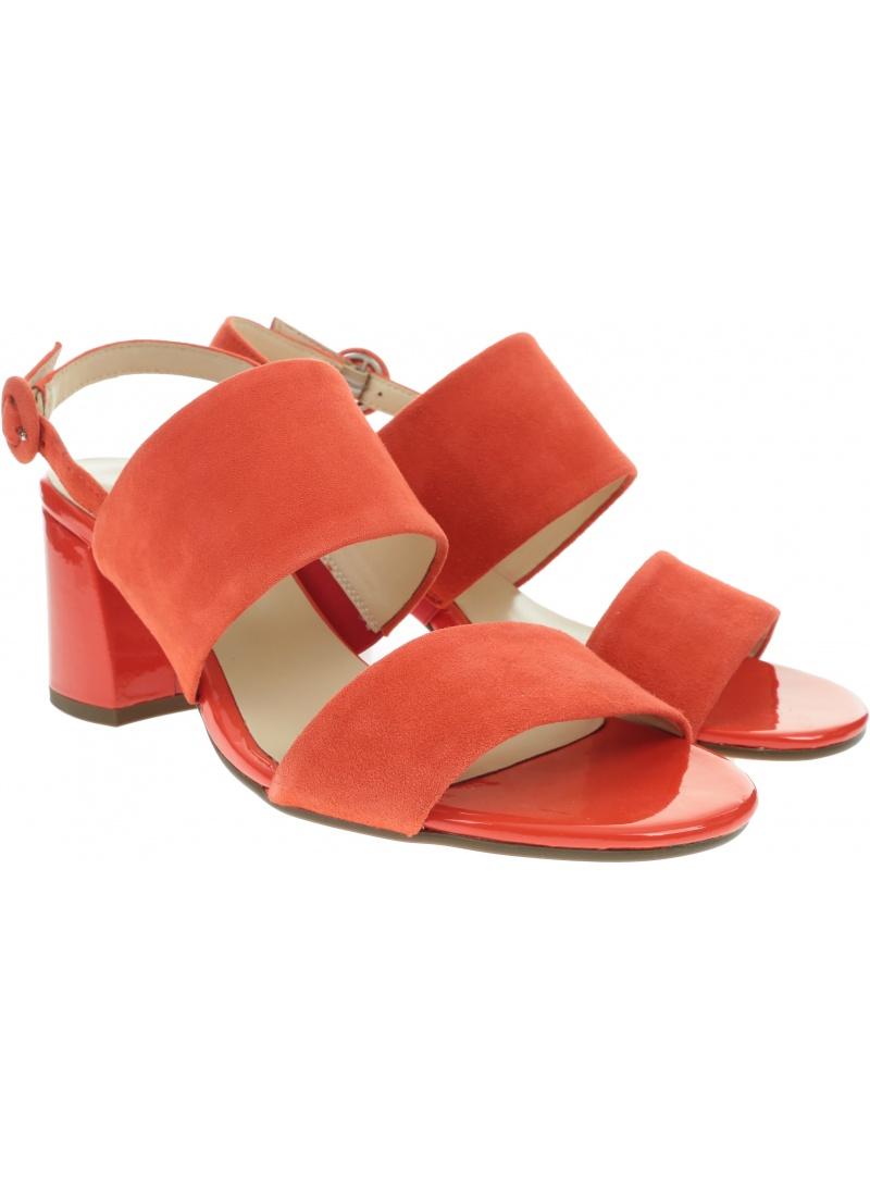 Pomarańczowe Sandały HOGL 9-10-5542 4200