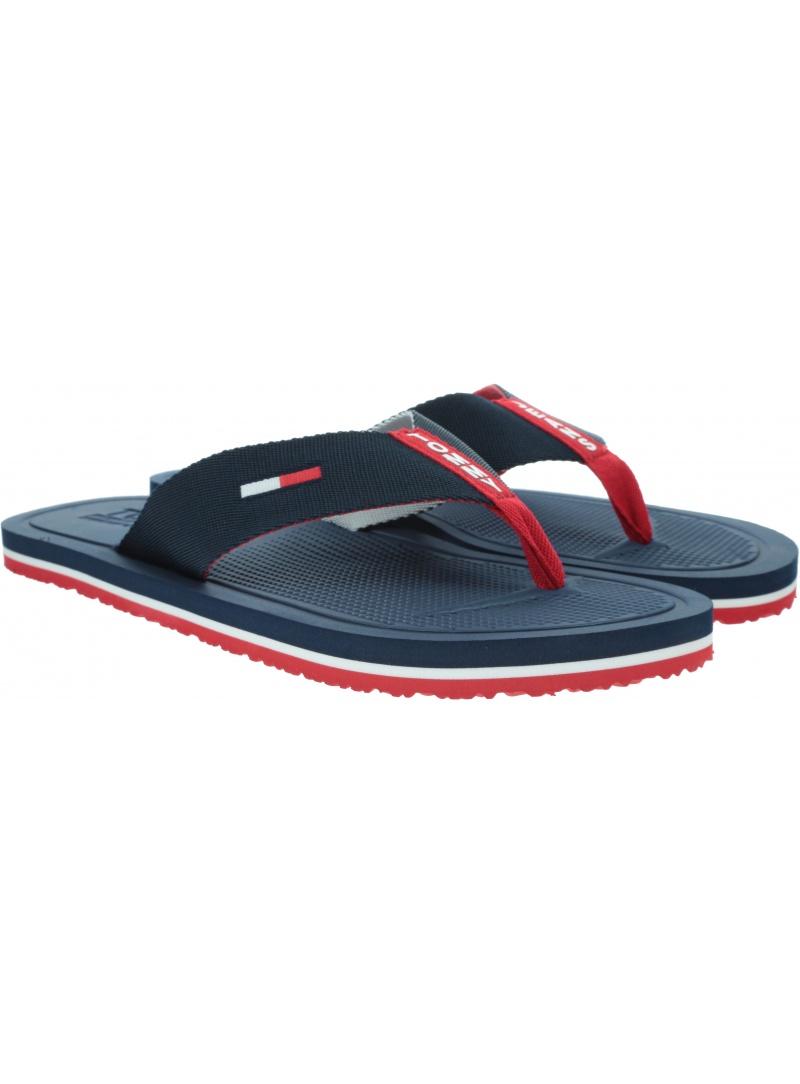 Japonki Męskie TOMMY HILFIGER Comfort Footbed Beach Sandal EM0EM00434 0KP