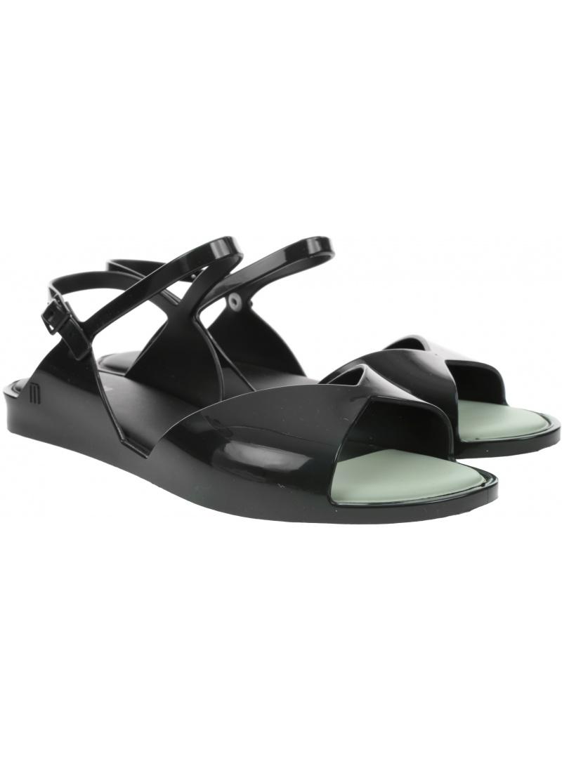 Czarne Sandały MELISSA Silky Ad 32917 01003