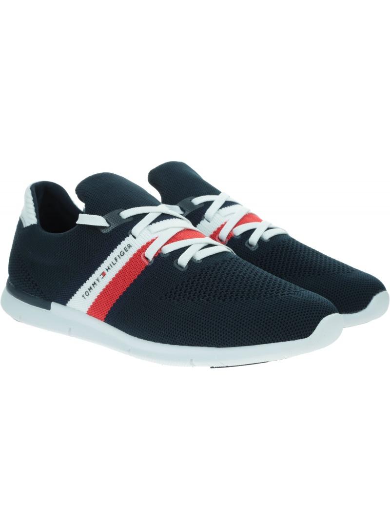 Sneakersy Damskie TOMMY HILFIGER Sporty Lightweight Sneaker FW0FW04998 DW5