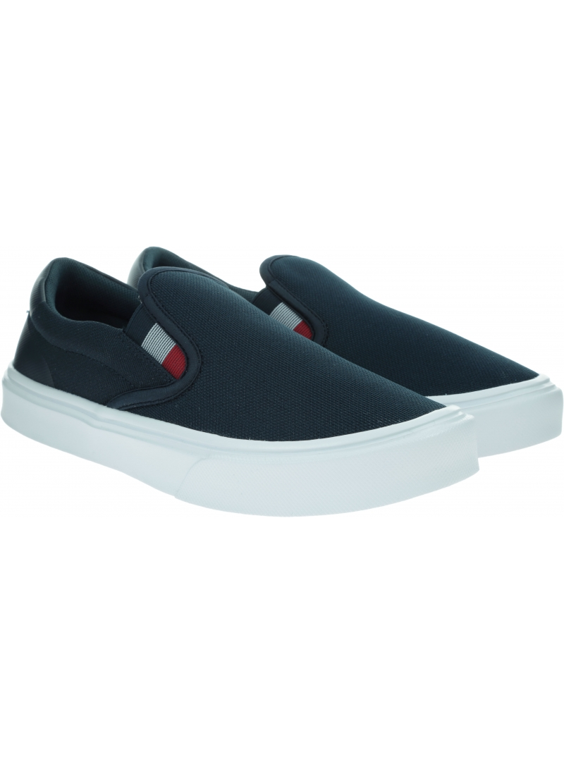 Sneakersy Męskie TOMMY HILFIGER Lightweight Knit Sneaker Slip On