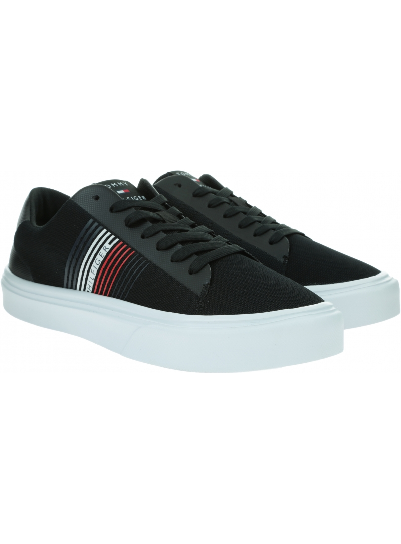 Sneakersy Męskie TOMMY HILFIGER Lightweight Stripes Knit Sneaker