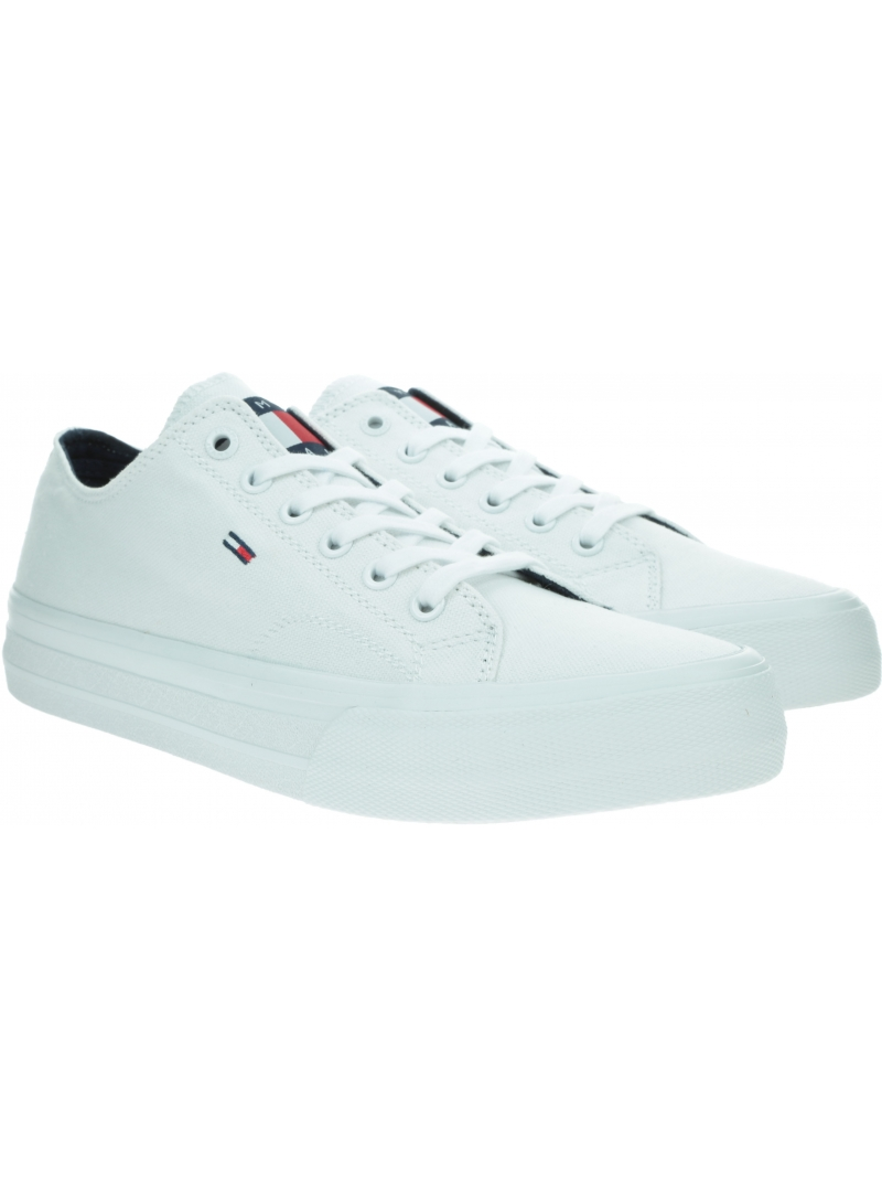 Trampki Męskie TOMMY JEANS Long Lace Up Vulc EM0EM00486 YBR