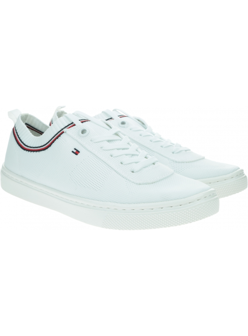 Sneakersy Damskie TOMMY HILFIGER Knitted Tommy Hilfiger Sneaker FW0FW05005