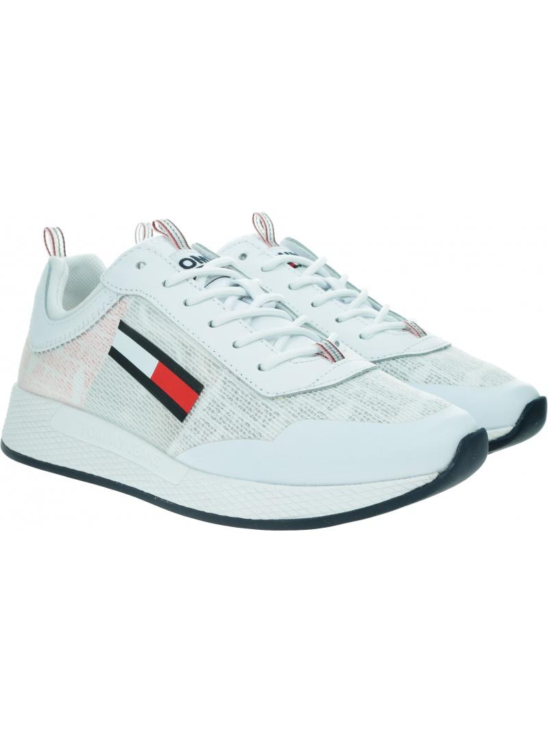 Sneakersy Damskie TOMMY JEANS Wmns Print Flexi Runner EN0EN00942 0K9