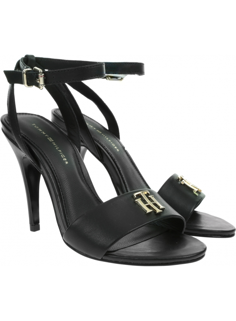 Sandały na Szpilce Damskie TOMMY HILFIGER Th Hardware High Heel Sandal