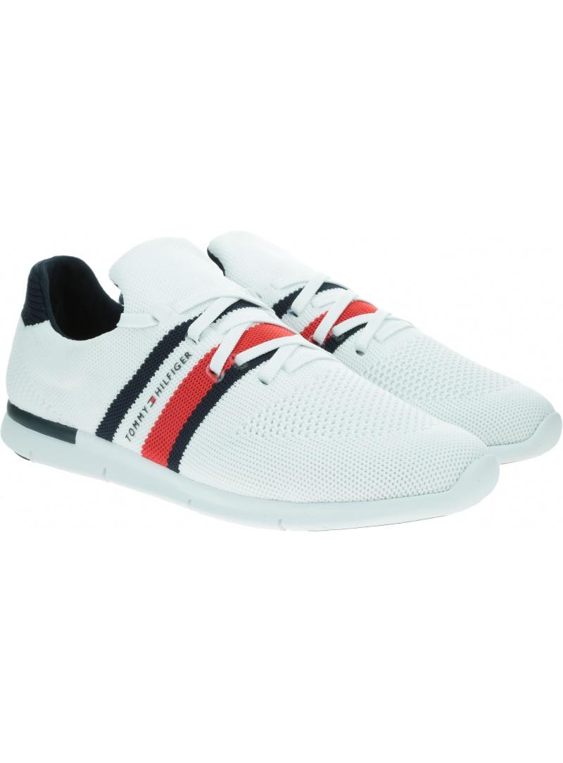 Sneakersy Damskie TOMMY HILFIGER Sporty Lightweight Sneaker FW0FW04998 YBR