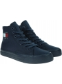 Trampki Damskie TOMMY JEANS Wmns Mid Cut Lace Up Vulc EN0EN00937 C87