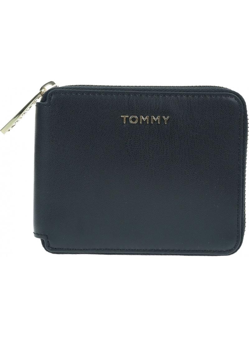Mały Portfel Damski TOMMY HILFIGER Iconic Tommy AW0AW08499 0GY