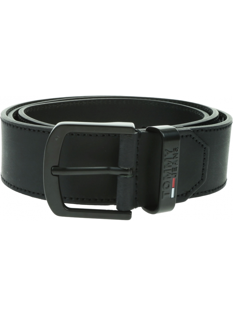 Pasek Męski TOMMY JEANS Tmj Metal Buckle Belt 4,0 AM0AM06223 BDS