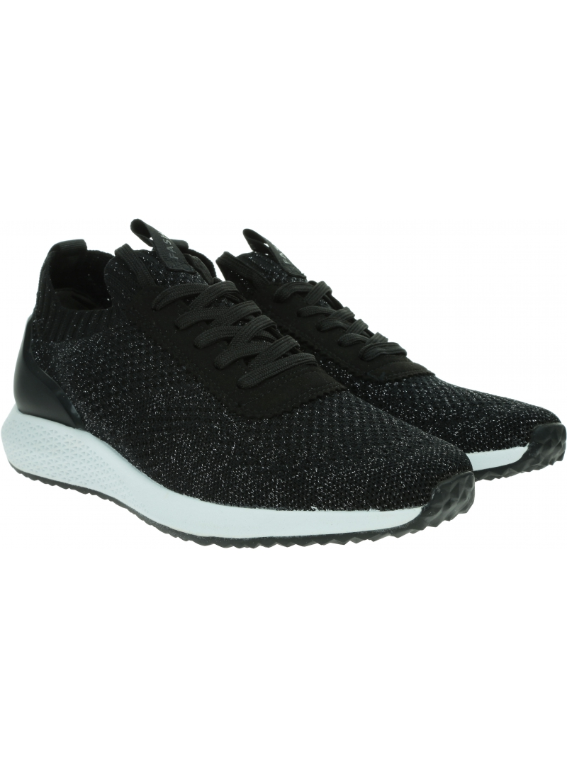 Sneakersy TAMARIS Fashletics 1/1-23714/25 019 Black Silver