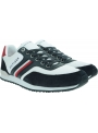 Sneakersy Męskie TOMMY HILFIGER Iconic Material Mix Runner FM0FM02847 DW5
