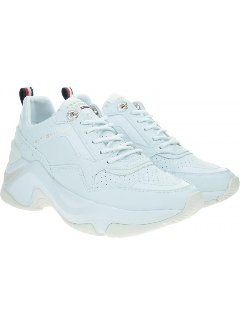 Sneakersy Damskie TOMMY HILFIGER Feminine Internal Wedge Sneaker