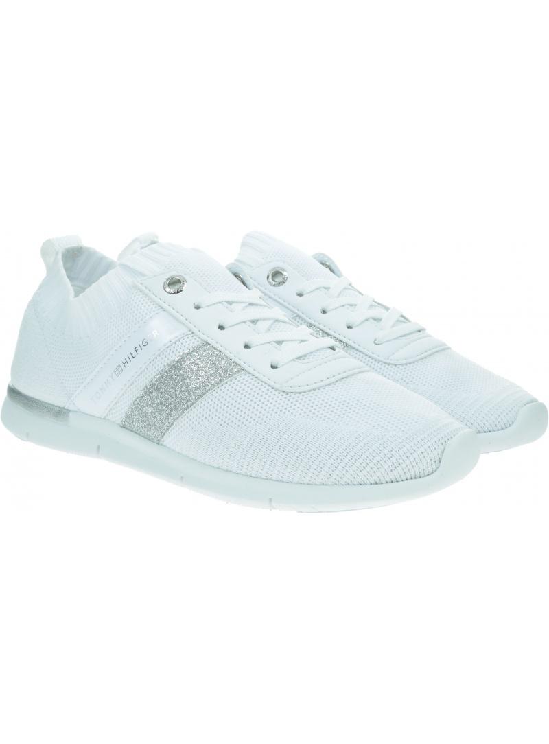 Sneakersy Damskie TOMMY HILFIGER Feminine Lightweight Sneaker FW0FW05014