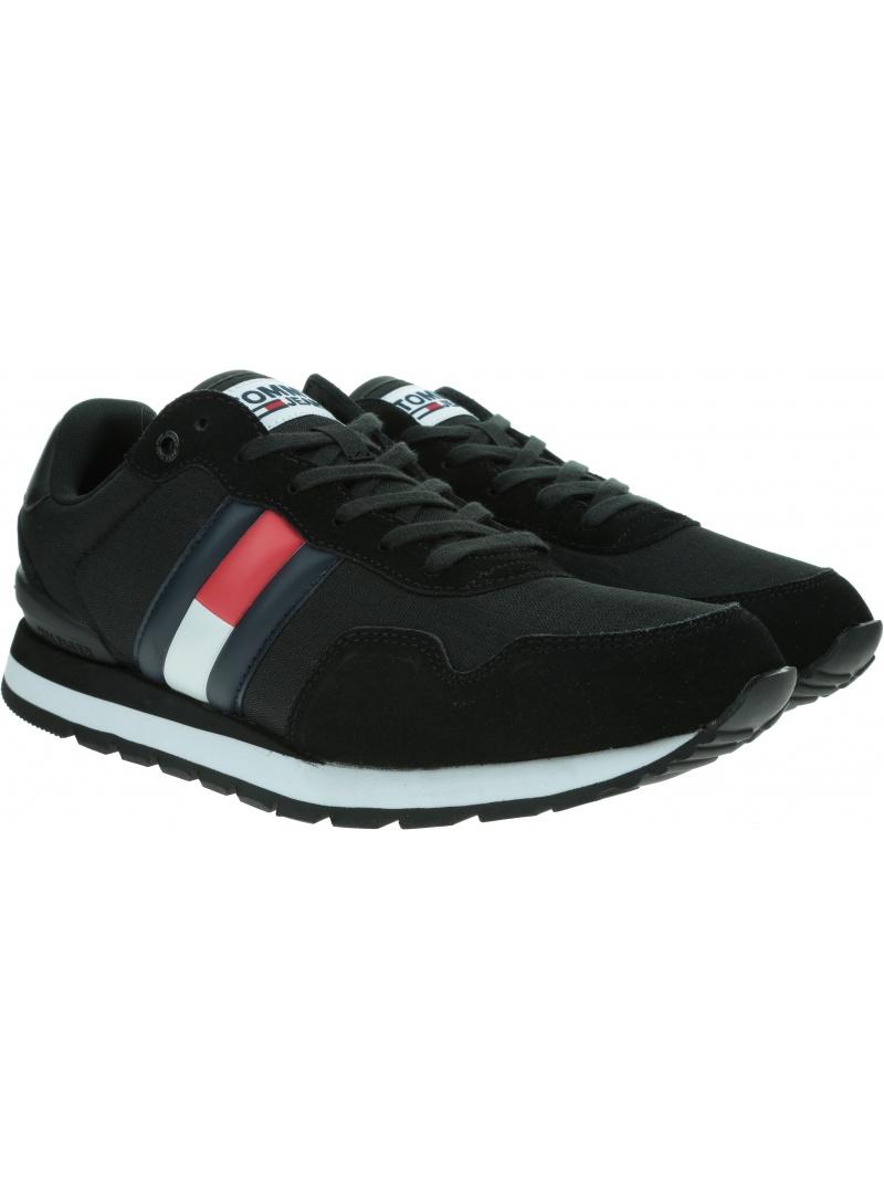Sneakersy Męskie TOMMY JEANS Tommy Jeans Lifestyle Sneaker EM0EM00492 BDS