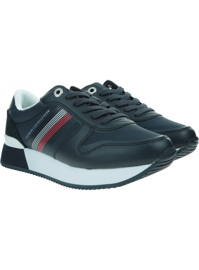 Sneakersy Damskie TOMMY HILFIGER Active City Sneaker FW0FW05011 DW5