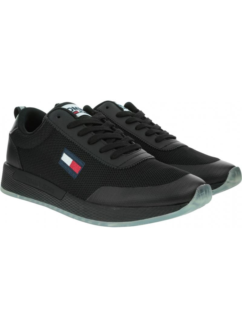 Sneakersy Męskie TOMMY JEANS Tommy Jeans Flexi Runner EM0EM00490 BDS
