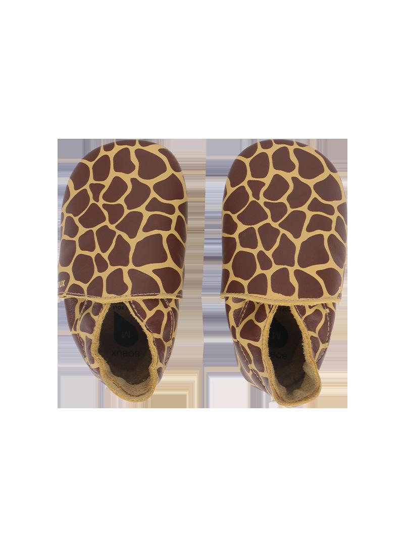 Skórzane Kapcie BOBUX 1000-073-37 Giraffe Fall Leaf Soft Sole