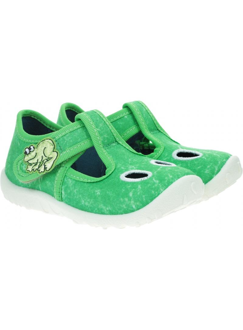 Zielone Kapcie z Żabką SUPERFIT 0-609248-7000