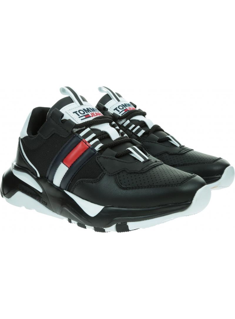 Sneakersy TOMMY JEANS Chunky Tech Runner EN0EN01138 BDS