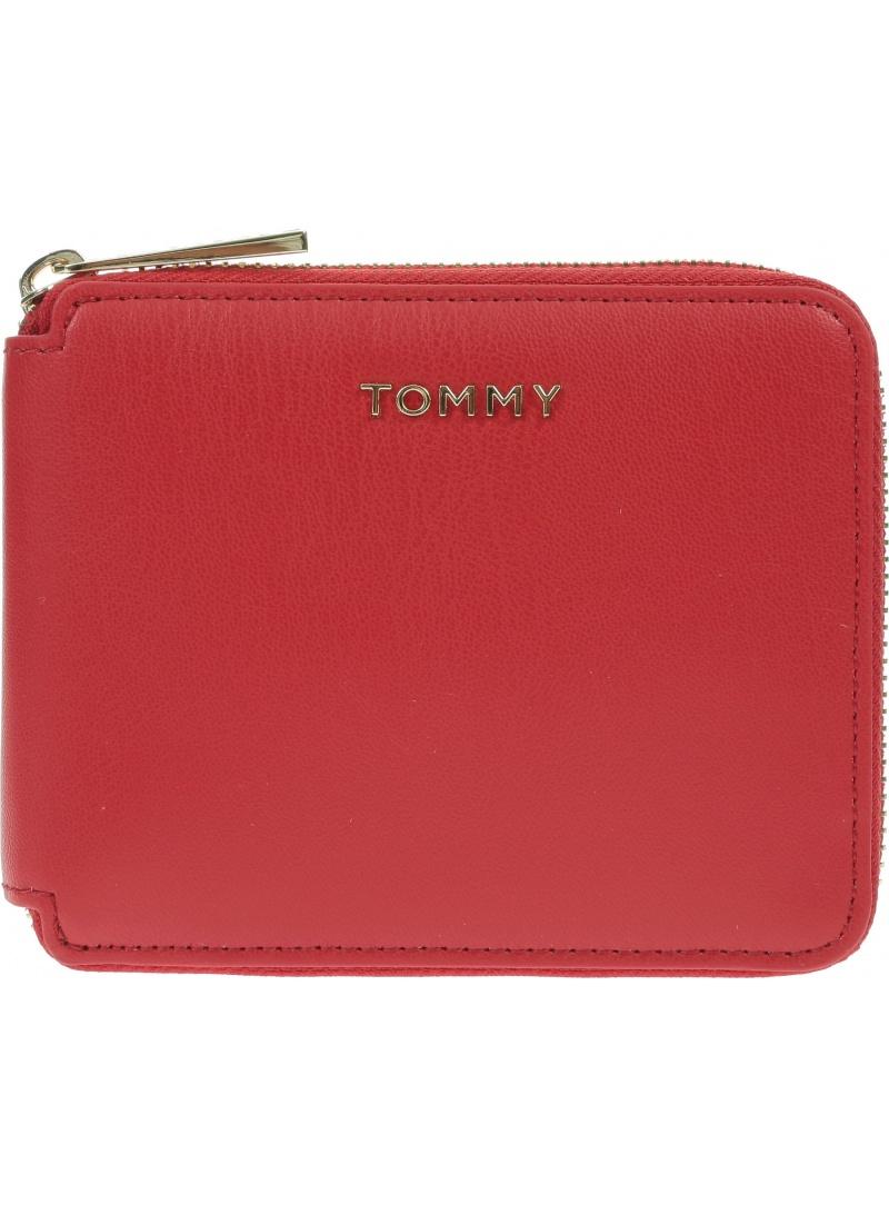 Mały Portfel Damski TOMMY HILFIGER Iconic Tommy AW0AW08499 XAF