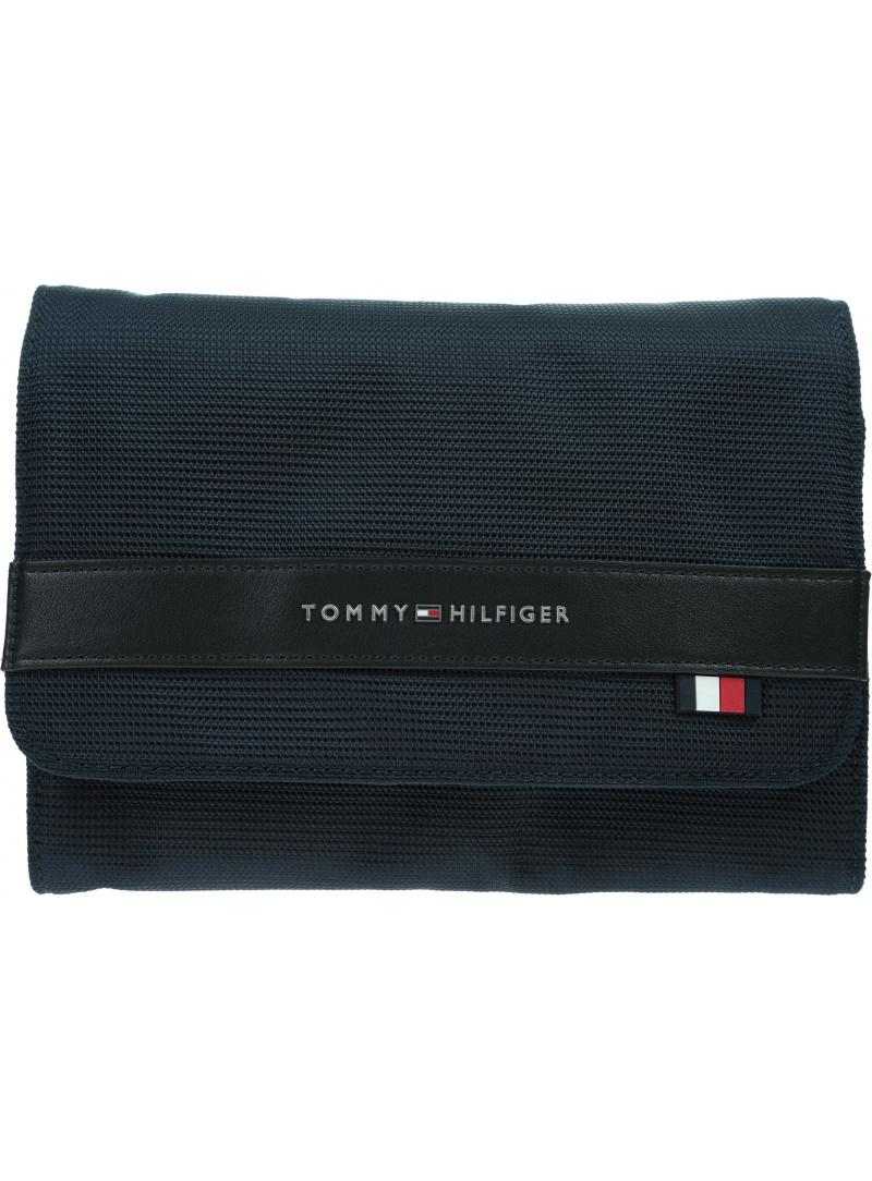 Rozkładana Kosmetyczna TOMMY HILFIGER Elevated Nylon Washbag AM0AM06524 DW5
