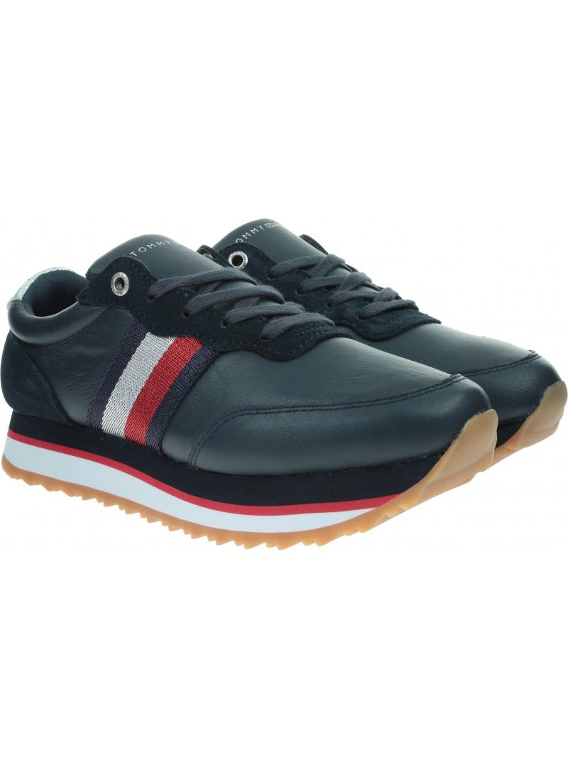 Sneakersy TOMMY HILFIGER Tommy Tape Sneaker FW0FW04997 DW5