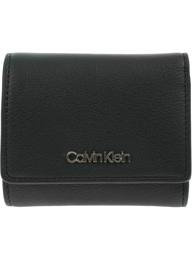 Portfel Damski CALVIN KLEIN Trifold Wallet K60K607251 BAX