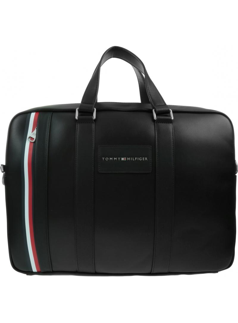 Torba na laptopa TOMMY HILFIGER Th Metropolitan Computer Bag AM0AM06294 BLK