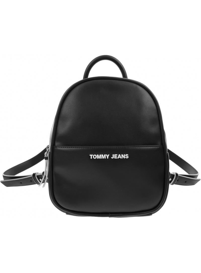 Czarny Plecak TOMMY JEANS Tjw Femme Pu Mini Backpack AW0AW08957 BDS
