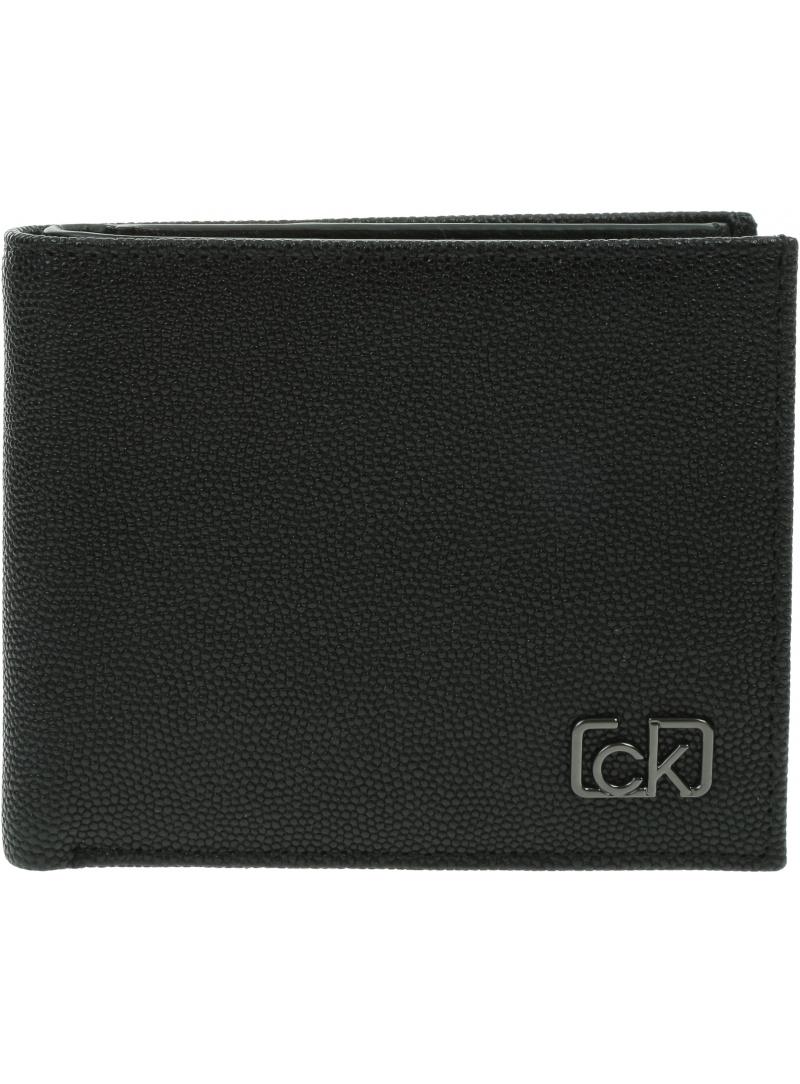 Duży Portfel Męski CALVIN KLEIN Biflod 5Cc W/ Coin K50K505959 BAX