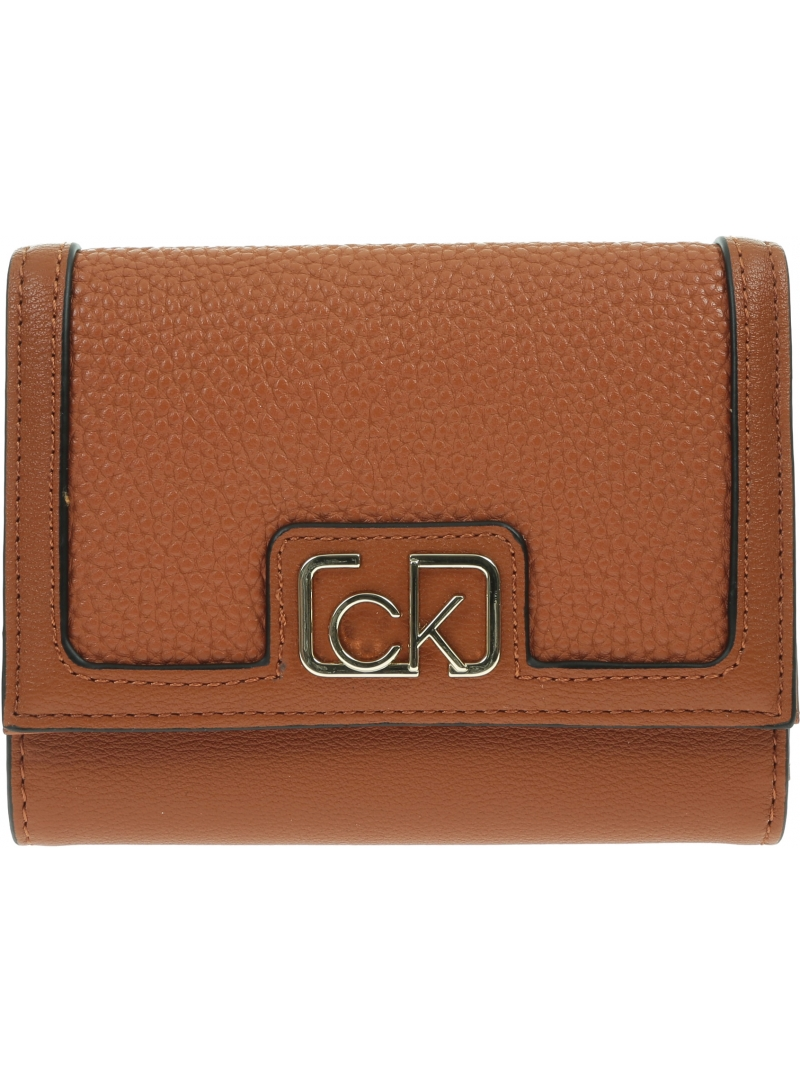 Portfel Damski CALVIN KLEIN Trifold Wallet K60K607171 GC9