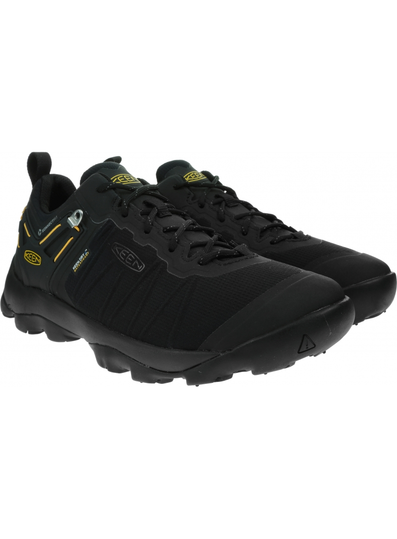 Czarne Buty Trekkingowe KEEN Venture Wp 1021173 Black